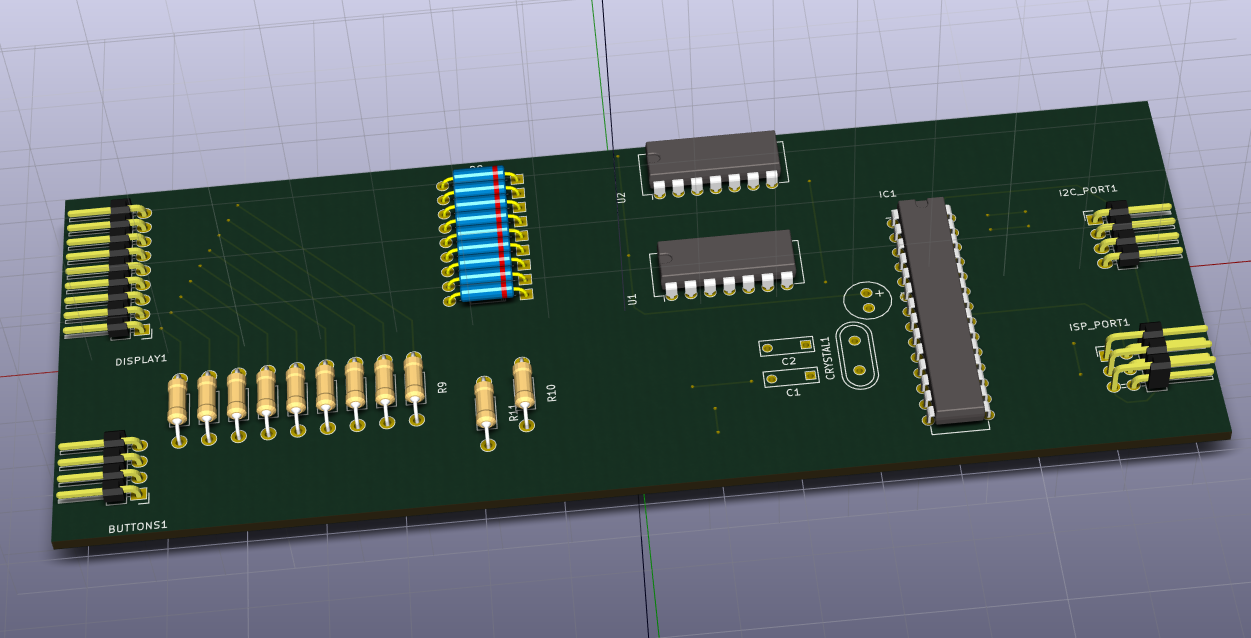 PCB with diodes